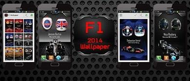 دانلود برنامه والپیپر فرمول یک F1 2014 Wallpaper v1.0