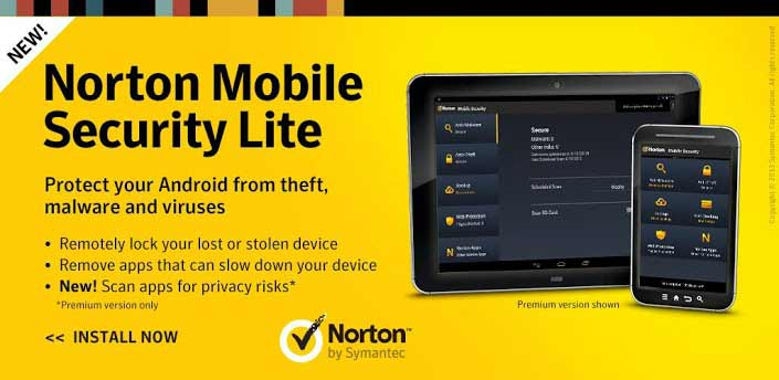 دانلود نرم افزار Norton Antivirus برای اندروید