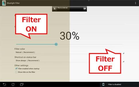 Bluelight Filter for Eye Care 1.69