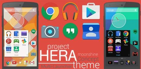Project Hera Launcher Theme 1.11