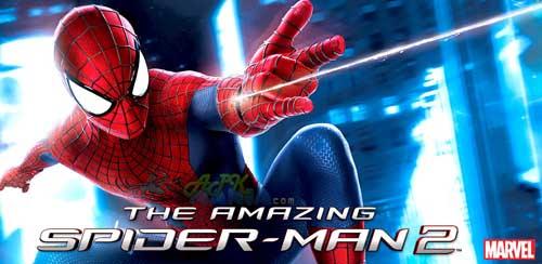 The Amazing Spider Man 2 دانلود بازی هیجان انگیز مرد عنکبوتی   Spider Man Unlimited 1.0.0i