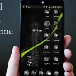 Theme Crystal Black Flat HD v6.8