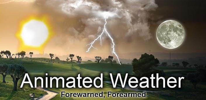 Animated Weather Widget&Clock v6.0.3