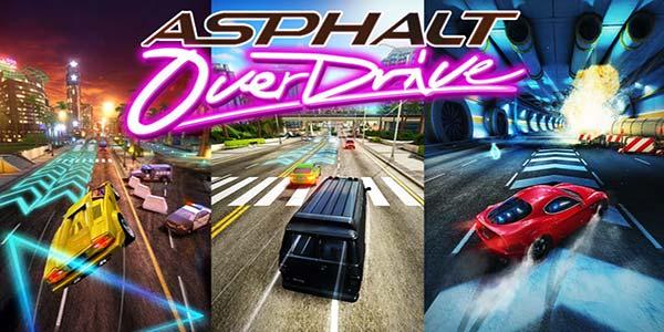 بازی ماشین سواری Asphalt Overdrive 1.0.0k برای اندروید