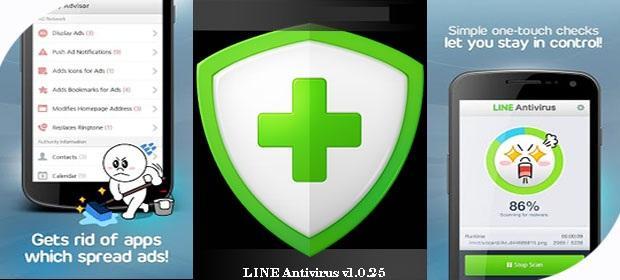 دانلود آنتی ویروس لاین - LINE Antivirus v1.0.34