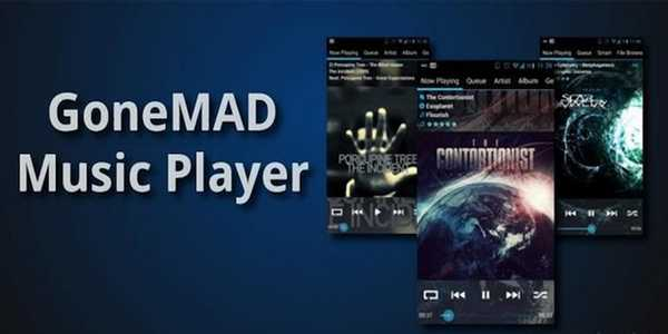 GoneMAD-MusicPlayer