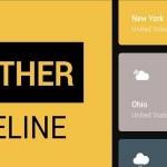 Weather-Timeline